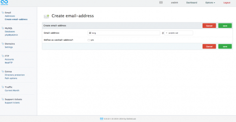 Create email-address